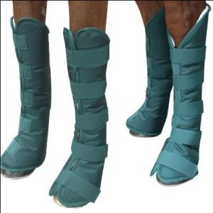 Whosale Quality Green Horse Boots (SMB7309) pictures & photos