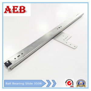 2017 Furniture Customized Cold Rolled Steel Two Knots Linear for 35mm TV Slide or Push Dressing Mirror pictures & photos