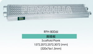 Steel Plank with Hook for Ringlock Scaffolding and Cuplock Scaffolding (RFH-B006I) pictures & photos