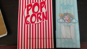 Christmas Popcorn Paper Bag Food Bag with Tin Tie pictures & photos