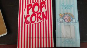Popcorn Paper Bag Food Bag with Tin Tie pictures & photos