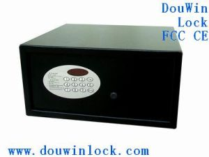 Electronic Fireproof Digital Hotel Safe Box pictures & photos