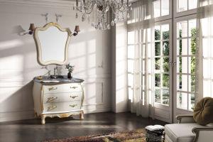 Thailand a Grand Wood, Antique Vanity/Bathroom Cabinet (FS-B621)