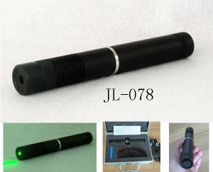 Adjustable Focus Green Laser Pointer With Waterproof (JL-078) pictures & photos