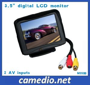 3.5-Inch Car Rearview LCD Monitor with 2 AV Inputs pictures & photos