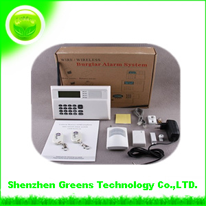 Home Security GSM/PSTN Wireless Alarm System (GAS2000M)