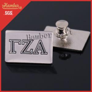 Letter Metal Badge Pin