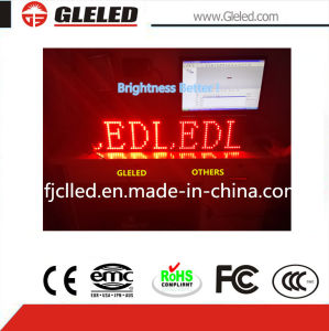 Single Red Color LED Display Screen for Events pictures & photos