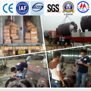 Waste Tyre or Plastic or Rubber to Oil Recycling Pyrolysis Plant