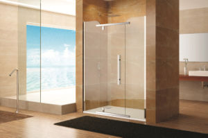 Simple Design Stainless Steel Hardware Shower Doors Df-2813