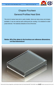 Aluminum Extrusion Heat Sink for Broadcast Communication pictures & photos
