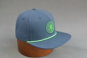Canvas Snapback Hat with PP Rope pictures & photos