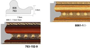 High Quality PS Picture Frame Moulding (806/763 SERIES)