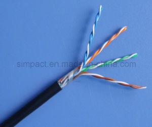 Cheaper Top Quality UTP PVC Fluke Test Cat5e LAN Cable pictures & photos