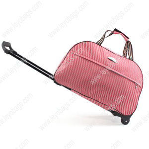 China Rolling Trolley Wheeled Travel Sports Bag for Girls Ladies ...