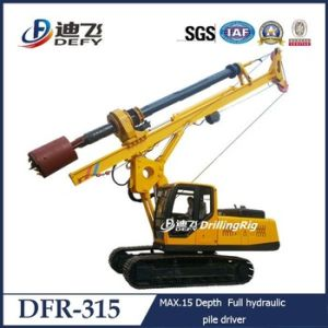Dfr-520 Auger Engineering Drilling Machine, Pole Digging Machine pictures & photos