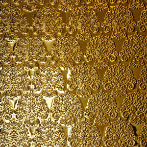 201 Golden Color Mirror Emboss Decoration Stainless Steel Sheets pictures & photos