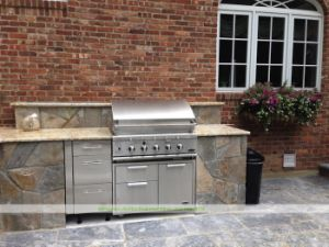 304 Stainless Steel Outdoor Kitchen with BBQ (WH-D743)