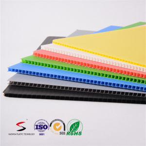 Polypropylene Fluted Sheet Custom Size Color pictures & photos
