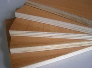 Decoration Grade 21mm Melamine Plywood pictures & photos