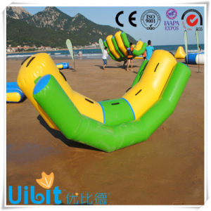 High Quality PVC Inflatable Water Park Equipment (Double Rocker) pictures & photos
