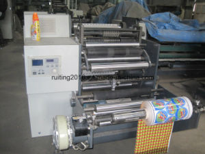 Rtfq-600/800A Wide Label Roll to Small Rolls Paper Slitting Machine pictures & photos