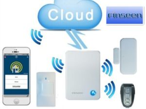 Finseen IP Cloud Home Security with Android & Ios APP