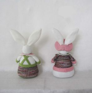 Easter Gift Decoration Boy and Girl Bunny pictures & photos