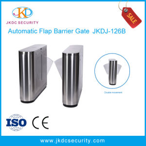 Optical Access Control Products Flap Barrier Gate with Qr Code Reader pictures & photos