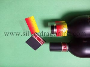 PVC Shrink Label for Cap Seal pictures & photos