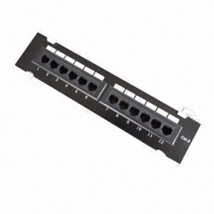 Patch Panel with 12-Port CAT6 UTP pictures & photos