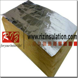 China thermal insulation mineral wool board with aluminium for Mineral fiber board insulation