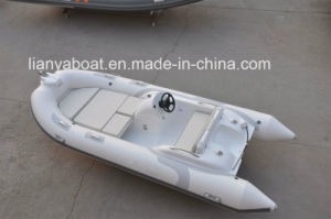 Liya 4.3m Electric Outboard Deep Sea Inflatable Small Boat Sale in Germany pictures & photos