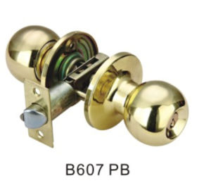 Cheap Price Good Quality Entrance Knob Door Lock (B607 PB) pictures & photos