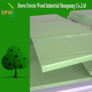 Apple Green High Glossy PVC Kitchen Cabinet Door pictures & photos