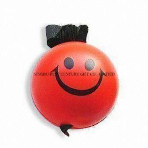 PU Stress Ball Yoyo Smiley Ball Shape