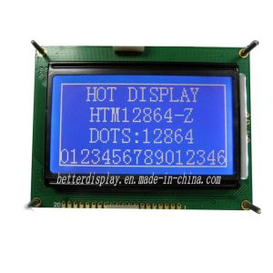 128X64 Counting LCD Blue Mode Panel Standard LCD Display Module pictures & photos