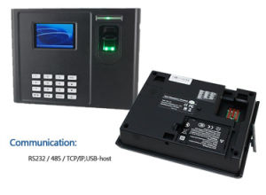 Built-in Battery SIM Card Biometric Attendance Machine with Free Sdk Z101