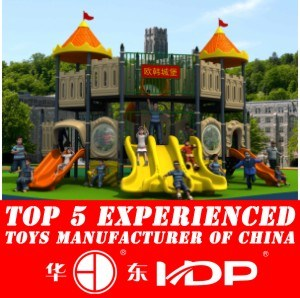 Factory Customized of Kids Outdoor/Indoor Playground Slide Hot Sell Preschool Equipment Amusement Park European and Korea Castle (HD15A-018A) pictures & photos