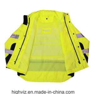 High Vis Safety Rainwear with ANSI107 (RW-003) pictures & photos