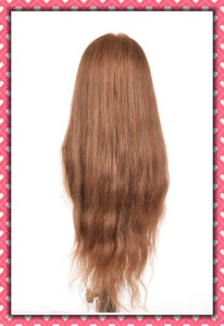 Factory Sale Mannequin Head Human Hair Training Head 26inches pictures & photos
