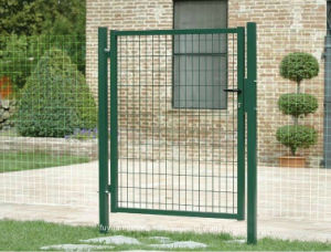 Factory Low Price Wrought Iron Garden Fence pictures & photos