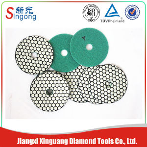 Diamond Rigid Polishing Pads for Dry Polishing Concrete Floor pictures & photos