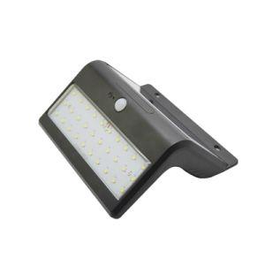 PIR Sensor Stainless Steel High Efficiency Garden Wall Integrated Solar Light pictures & photos