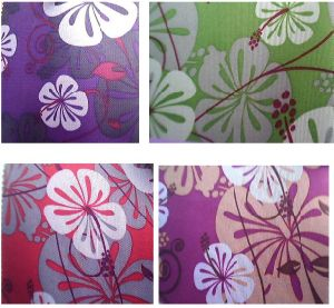 600d Printed Flower Bag Cabinet Fabric/Cloth