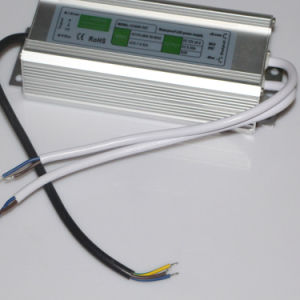 DC12-50V DC35W IP67 Waterproof LED Strip Power Supply pictures & photos