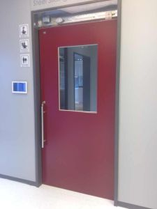 Cleanroom Powder Coated Steel Door pictures & photos