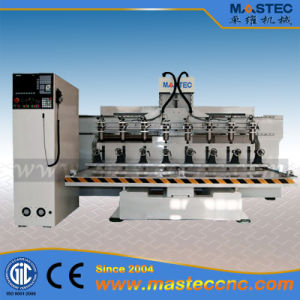 Multi-Spindle CNC Router Machine for Sofa / Table Legs Engraving (MA2520-8R)