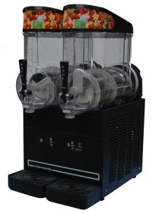 Hot Selling Stainless Steel 2 Tank Commercial Slush Ice Machine