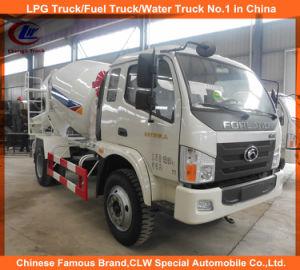3cbm Foton Forland Concrete Mixer Truck pictures & photos